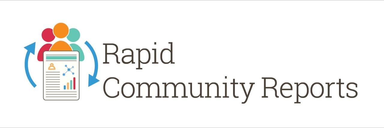 Rapid Community Reports logo