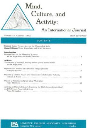 Mind, Culture, and Activity: An International Journal